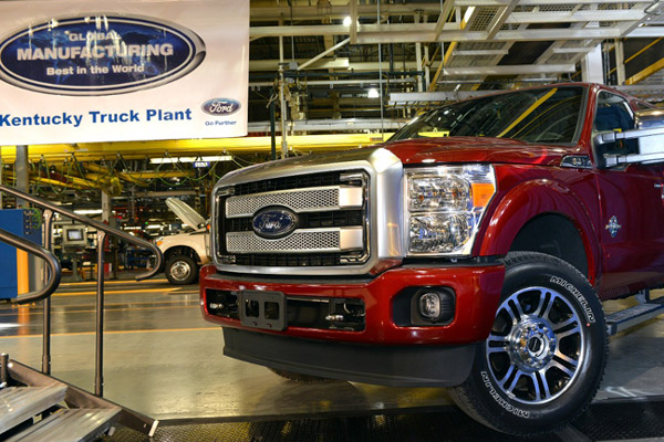 Ford Plant Retooling