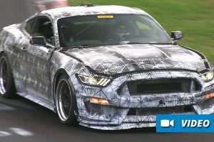 2016 Ford Mustang SVT Spied During Testing