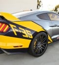 Ford Mustang Honoring F35 Aircraft