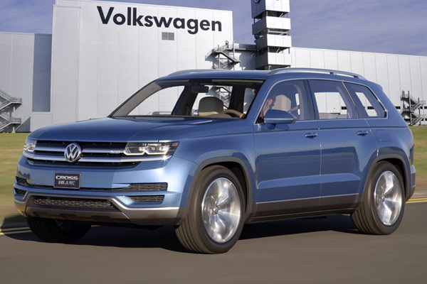 Volkswagen To Build New Suv In The United States Insider