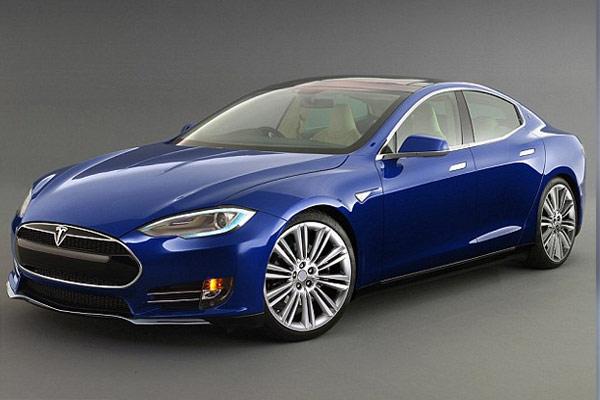 Tesla Model III Artist Rendering