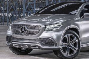 2015 Mercedes Benz Coupe SUV Concept
