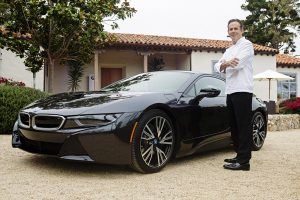 Renowned Chef Thomas Keller with BMW i8