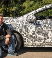 2016 Chevrolet Volt camouflaged