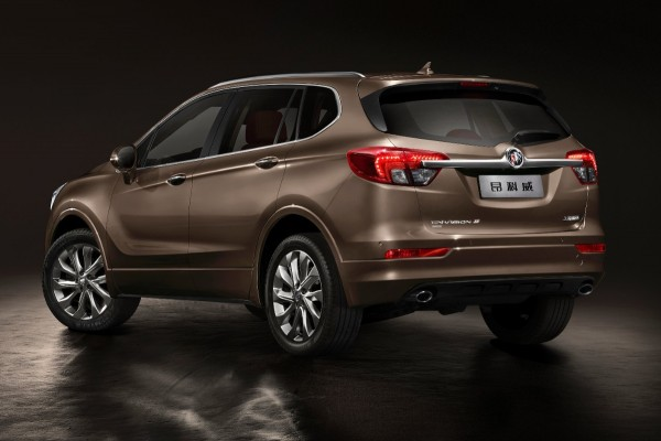 new compact crossover revealed the 2015 buick envision insider car news. Black Bedroom Furniture Sets. Home Design Ideas