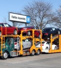 2014 Chevrolet Malibus being delivered