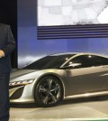 Takanobu Ito and the Acura NSX Concept