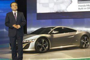 Takanobu Ito and the Acura NSX Concept