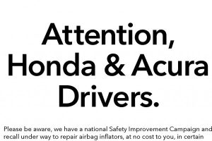 Honda Public Announcement