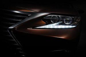 2016 Lexus ES Teaser Image