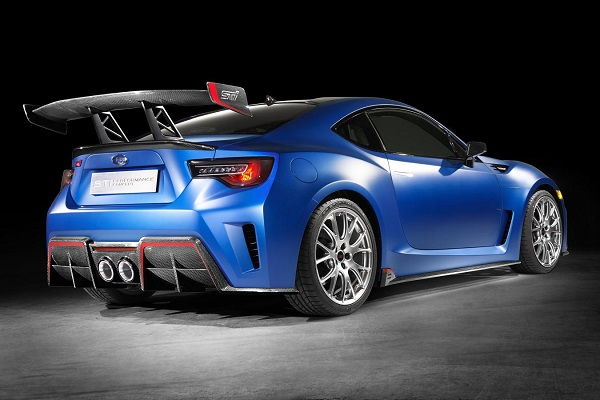 Subaru Shows off its BRZ-Based STI Performance Concept – Insider Car ...