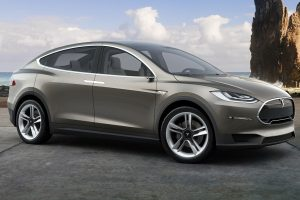 Tesla Model X teaser photo