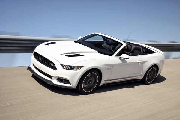 2016 ford mustang gt convertible california package - 2015 Ford Mustang White Convertible