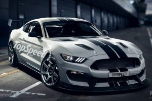 2016 Shelby GT350S rendering by TopSpeed