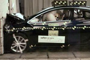 Buick Verano NHTSA crash test