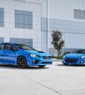 2016 Subaru WRX STI & BRZ Series.Hyperblue