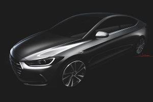 2017 Hyundai Elantra Teaser