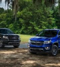 2016 Chevrolet Colorado Midnight Edition and Z71 Trail Boss