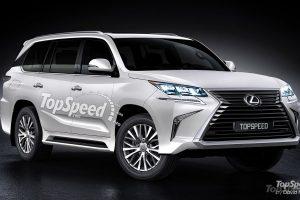 Top Speed Lexus flagship SUV rendering