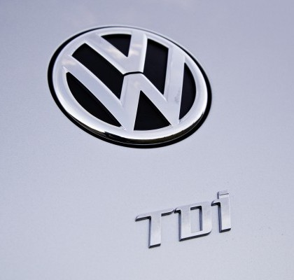 2013 VW Beetle TDI badge