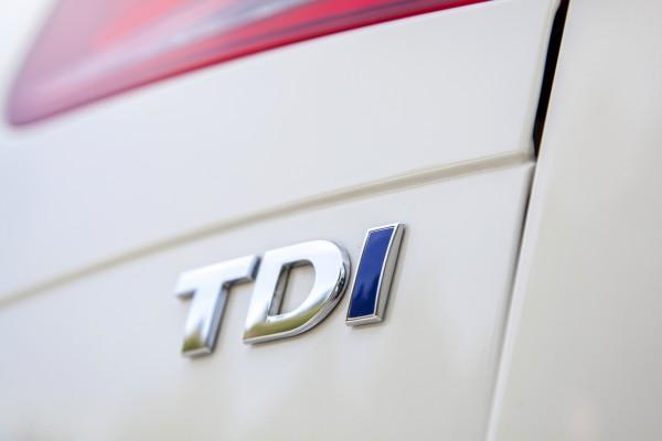 2014 Volkswagen Touareg TDI badge