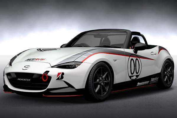 Mazda previews MX-5, CX-3 racing concepts for Tokyo
