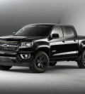 The new 2016 Colorado Z71 Midnight Special Edition