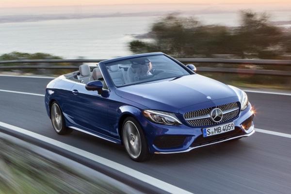 Mercedes c class convertible debuts insider car news - Mercedes c class coupe convertible ...