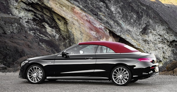mercedes c class convertible debuts insider car news. Black Bedroom Furniture Sets. Home Design Ideas