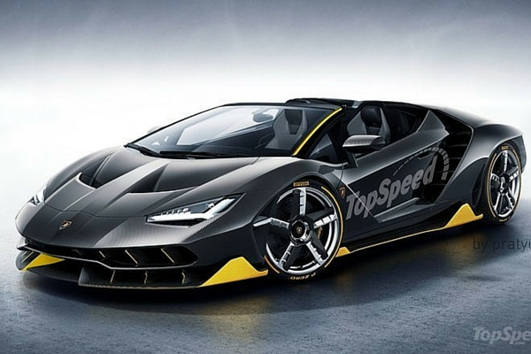 Rendered: 2017 Lamborghini Centenario Roadster – Insider ...