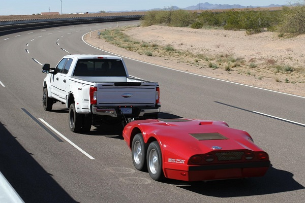 Ford F-Series Super Duty towing Dynamometer