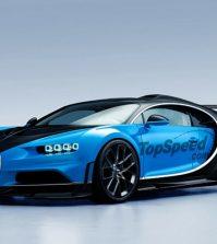 Bugatti Chiron SS rendering