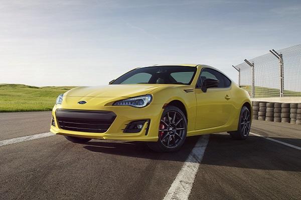 2017 Subaru BRZ Series.Yellow Special Edition