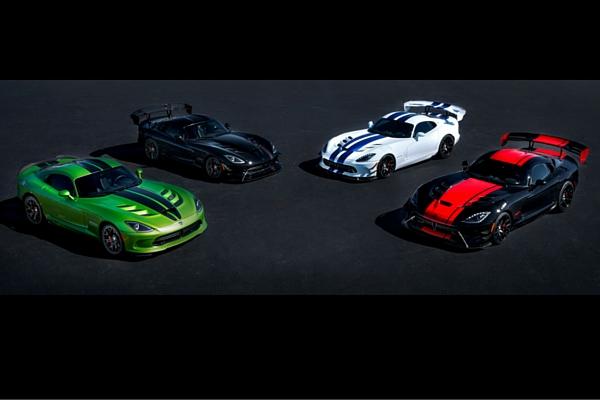 2017 Dodge Viper special editions