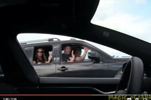 Tesla Model S prank video