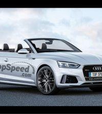 TopSpeed 2018 Audi RS5 Cabriolet rendering