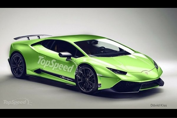 TopSpeed 2017 Lamborghini Huracan Superleggera rendering