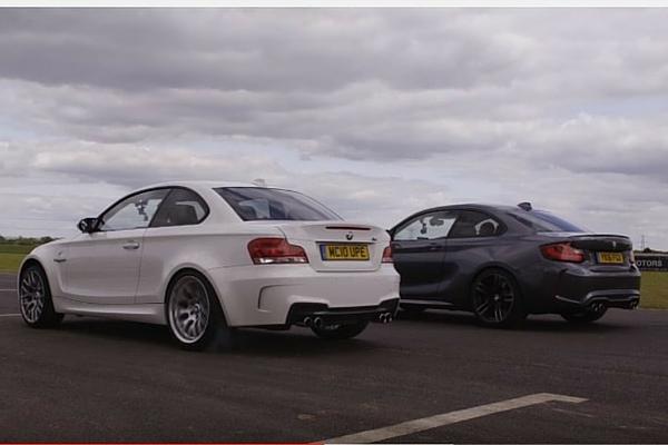 BMW 1M vs BMW M2