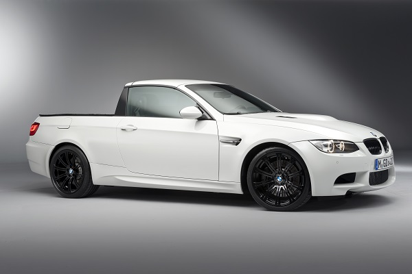BMW M3 Pickup April Fools