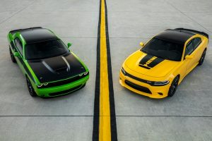 2017 Dodge Charger Daytona And Challenger T/A