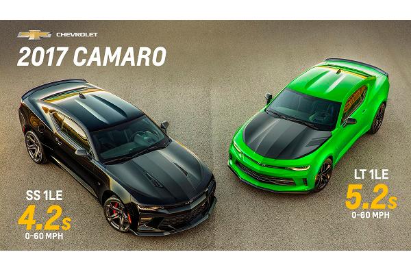 Chevrolet Camaro ZL1 & 1LE