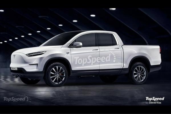 TopSpeed Tesla Pickup Rendering