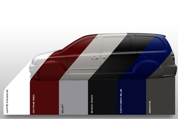 Dodge Grand Caravan Heritage-Inspired Colors