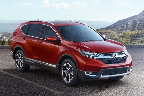 Redesigned Honda CR-V goes turbo for 2017