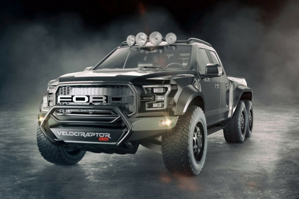 Hennessey VelociRaptor:: 6x6 Ford F-150 Raptor unveiled