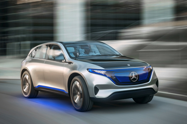Mercedes benz reveals eq electric sub brand insider car news for Mercedes benz upcoming models