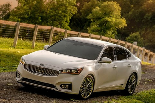 Kia prices 2017 Cadenza