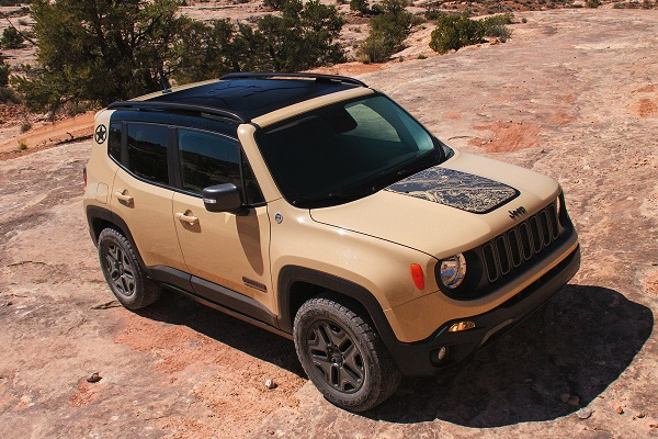 Jeep Unveils the Deserthawk and Altitude Versions of the Renegade – Insider Car News