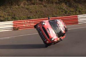 Mini Cooper Nurburgring record lap