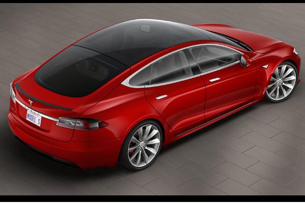 Tesla Model S Glass Roof